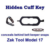 Zak Tool Concealable Cuff Key Model 17