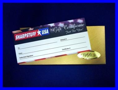 Presentation Gift Certificate $25