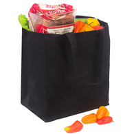 Cotton Carry Totes - Black - 100% Cotton