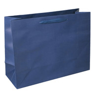 16 x 12 x 6 Navy Manhattan Bags 100/cs (MB-MH16NAV)