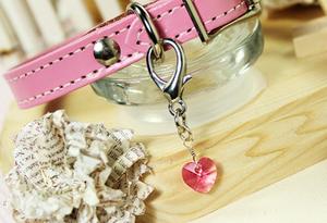 Swarovski Crystal Charm- Lovely Pink