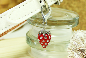 Strawberry D-Ring Charm
