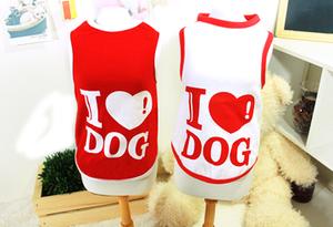 I Love Dog Sleeveless T-Shirt