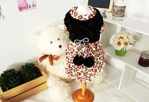 Luxury Leopard Velvet Dress