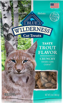 Blue Buffalo Wilderness Cat Treats Trout