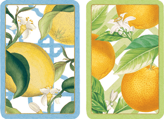 Playing Cards Citrus - Large Type