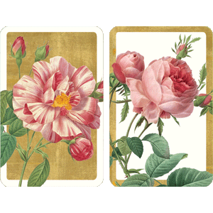 Playing Cards Roses - Regular Type