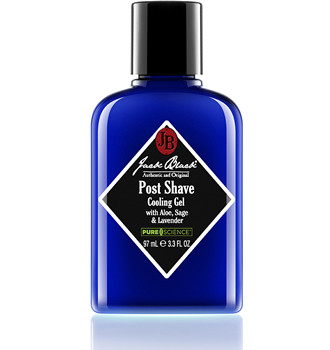 Jack Black Post Shave Cooling Gel with Aloe, Sage & Lavender 3.3 oz