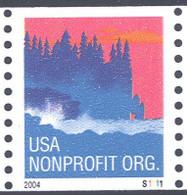 Scott # 3864 Plate # S1111 (.05) seacoast - center# 4B pink