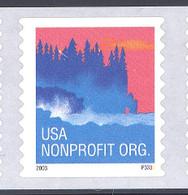 Scott # 3874a Plate # P3333 (.05) seacoast - center# 4T blue