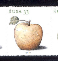 Scott # 4731-34 Plate # S11111 .33 Apples   PS9