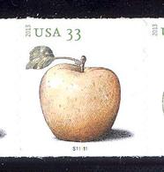 Scott # 4731-34 Plate # S11111 .33 Apples   PS9