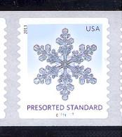 Scott # 4808-12 Plate # C11111111 (.10) Snowflakes   PS11