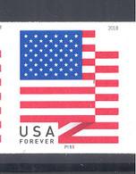 Scott # 5261 Plate # P111 Flag - 2018 date
