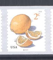 Scott # 5256 Plate # B11111 Lemon - center# 5B black