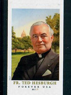 Scott # 5242 Plate # P11111 Father Hesburgh