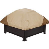 Savanna square firepit cover