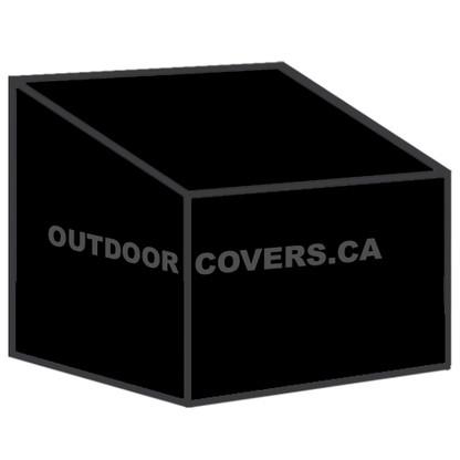 Advantage hiback patio chair cover shape