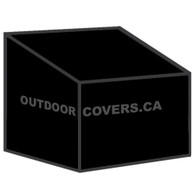 Advantage hiback patio chair cover shape