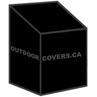 Advantage stacking patio chair cover shape