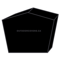 Advantage table saw cover shape