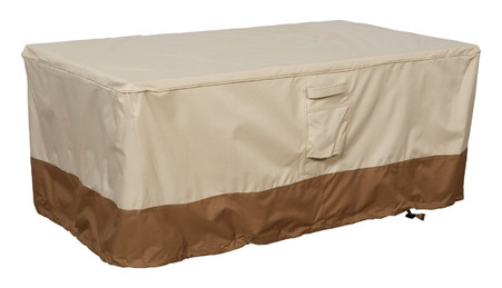 Savanna rectangle fire table cover