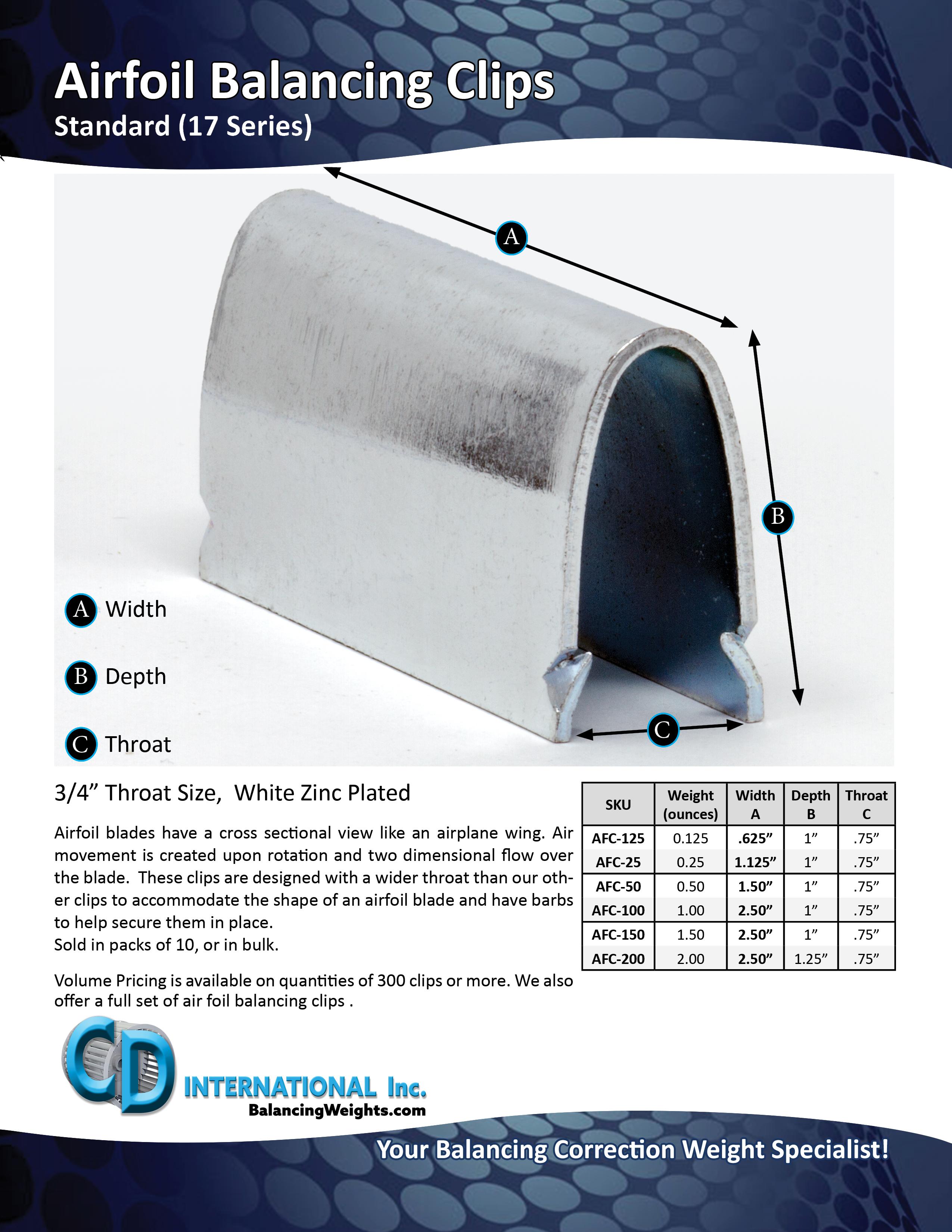 standard-afc-spec-sheets