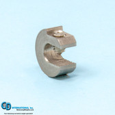 .125 ounce stainless steel balancing c-clamp
