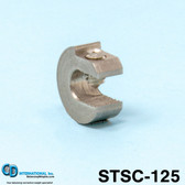 ".125 oz (3.5 g) Stainless Steel Balancing Clamp, 3/16"" throat size. - STSC-125"