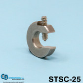"0.25 oz (7 g) Stainless Steel Balancing Clamp, 5/16"" throat size - STSC-25"