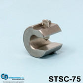 "0.75 oz (21g) Stainless Steel Balancing Clamp, 5/16"" throat size. - STSC-75"