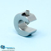 1.0 ounce stainless steel balancing c-clamp