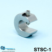 "1 oz (28 g) Stainless Steel Balancing Clamp, 7/16"" throat size - STSC-1"