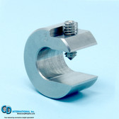 3.0 ounce stainless steel balancing c-clamp