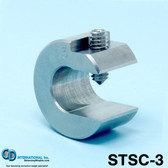 "3 oz (84g) Stainless Steel Balancing Clamp, 5/8"" throat size - STSC-3"