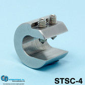 "4 oz (112g) Stainless Steel Balancing Clamp, 5/8"" throat size - STSC-4"