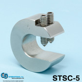 "6 oz (168g) Stainless Steel Balancing Clamp, 3/4"" throat size - STSC-6"