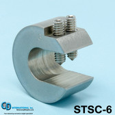 "5 oz (140g) Stainless Steel Balancing Clamp, 3/4"" throat size - STSC-5"