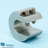 8.0 ounce stainless steel balancing c-clamp