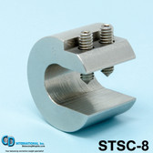 "8 oz (224g) Stainless Steel Balancing Clamp, 3/4"" throat size - STSC-8"