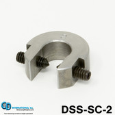 "2 ounce (56 gram) Double Sided Balancing C-Clamp, 5/8"" throat size - DSS-SC-2"