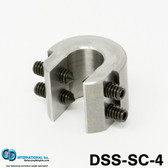 """4 ounce(112 gram) Double Sided Balancing C-Clamp, 5/8"""" throat size - DSS-SC-4"""
