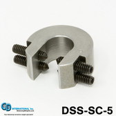 """5 ounce (140 gram)  Double Sided Balancing C-Clamp, 3/4"""" throat size - DSS-SC-5"""