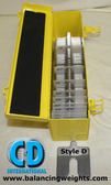 Complete Kit Size D Stainless Steel Alignment Shims