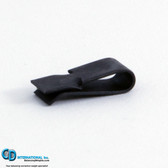 1.8 gram Black Backward Incline fan balancing clip