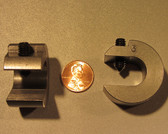 3.0 ounce steel balancing C-clamp