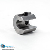 0.75 ounce steel balancing C-clamp