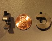 0.25 ounce steel balancing C-clamp