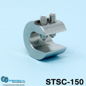 "1.5 oz (42 g) Stainless Steel Balancing Clamp, 7/16"" throat size. - STSC-150"