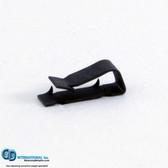 XW-RIC-B-04 - 0.4 gram black Extra Wide Backward Incline clips